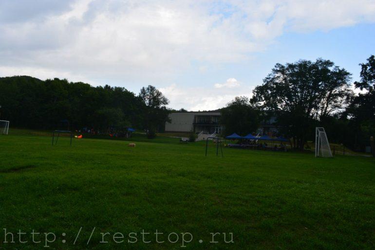 футбольное поле база отдыха экопарк Хабаровск воронеж 1