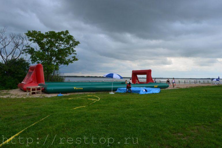 мини-футбол на воде база отдыха эко парк хабаровск