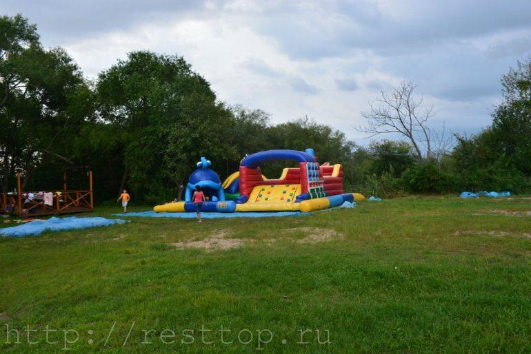 водяные горки детям эко парк база отдыха воронеж 1