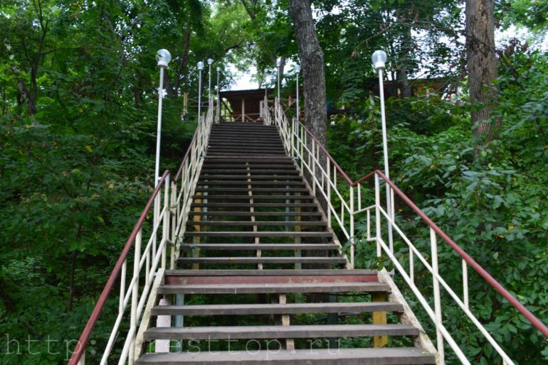 эко парк хабаровск беседки лестница