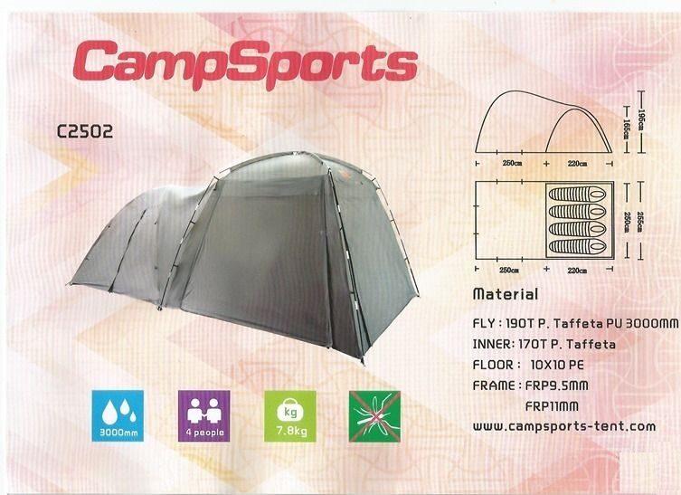 CampSports C2502 наклейка