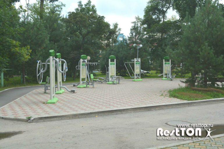 спортплощадка на ривьера парк заимка хабаровск