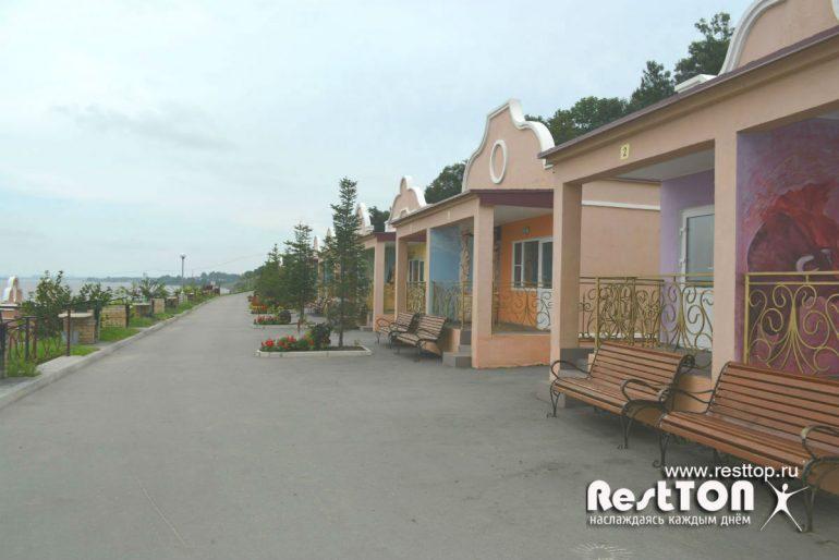 домики ривьера парк Хабаровск