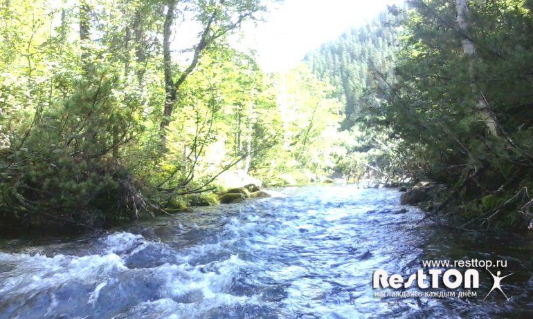 река у озера Амут