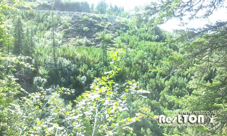 эффект гор озера Амут фото