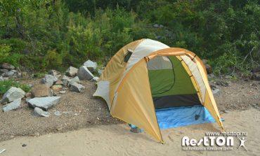 Обзор недорогой палатки туристической 3-местной для походов и кемпинга Traveltop CT-2316