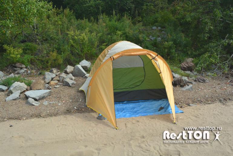 бюджетная палатка