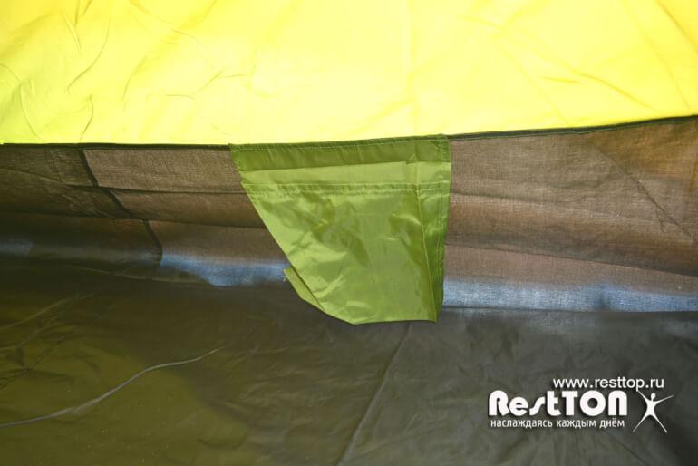 пол палатки 4 местные недорогие Traveltop CT-2316