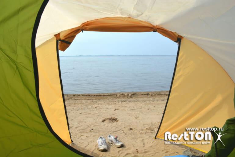 тамбур палатки 4 местные недорогие Traveltop CT-2316