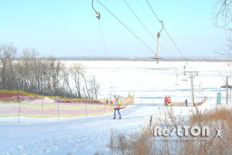 горнолыжная база снеговик