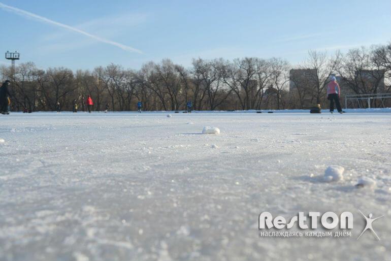 качество льда на катке динамо хабаровска