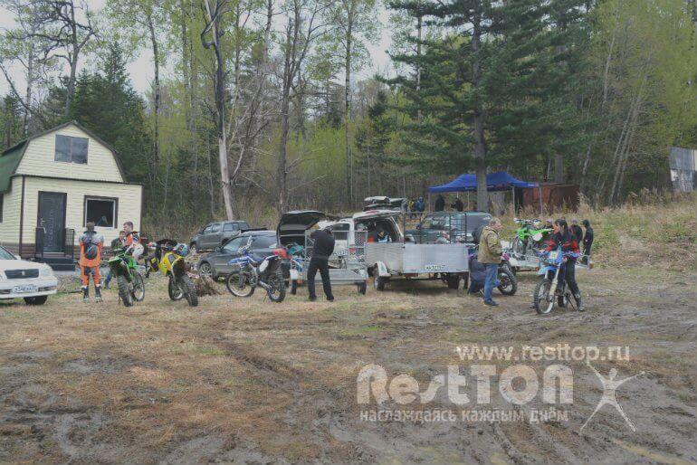 соревнования эндуро Хабаровск 2017