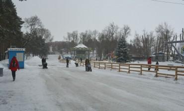 Каток на набережной Хабаровска 2015-16 год