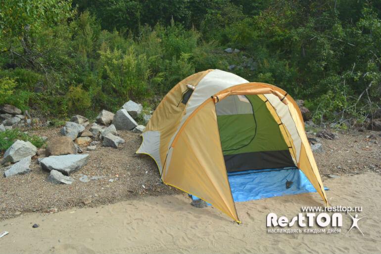 купить недорогая палатка Traveltop CT-2316