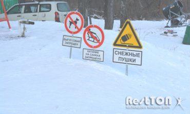 Горнолыжка от Экопарка на Воронеже - Снеговик!