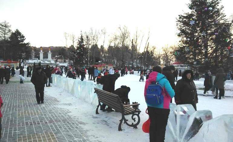Каток на набережной Хабаровска 2018 — 2019